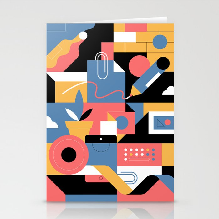 Creative Pattern I Stationery Cards