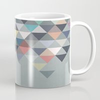 nordic Mugs featuring Nordic Combination 20 by Mareike Böhmer