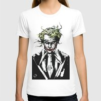 the joker T-shirts featuring Joker. by CJ Draden