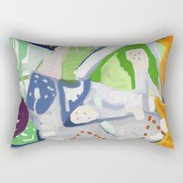 God Of Chaos Rectangular Pillow