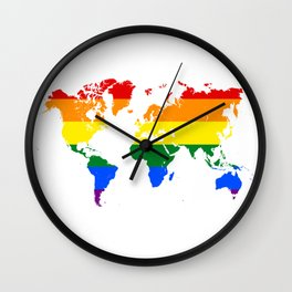 A World For All Wall Clock