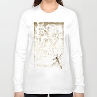 anatomy Long Sleeve T-shirts featuring Anatomy by ViviRajski