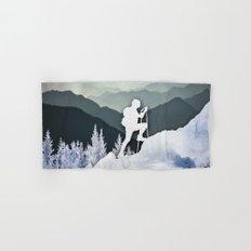 Winter Mountains Hand & Bath Towel