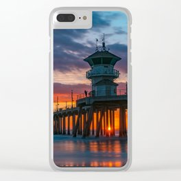 Last Sunset of 2018 Clear iPhone Case