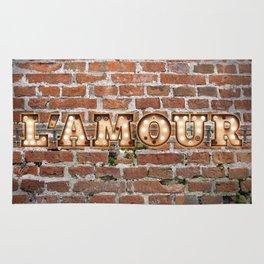 L'Amour - Brick Rug