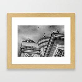 Helsingin Tuomiokirkko Framed Art Print