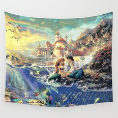 The Little Mermaid - Part Of Your World Wall Tapestry