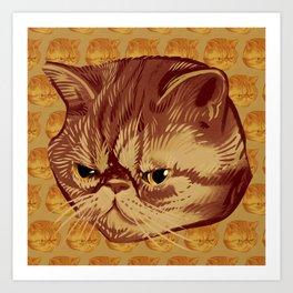 Fitzroy the Cat Art Print