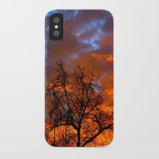 Winter Sunrise Slim Case iPhone X