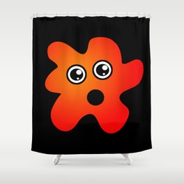 Surprised Stain Shower Curtain