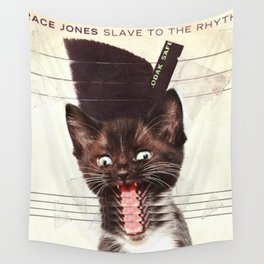 Slave To Kitty Wall Tapestry