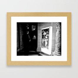 LONDON MUSEUM LIGHT Framed Art Print