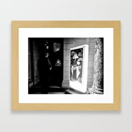 LONDON MUSEUM LIGHT Framed Art Print