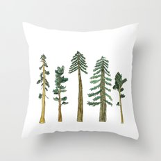 Be Beneath the Trees  Throw Pillow
