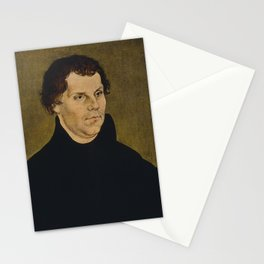 Martin Luther Painting Stationery Cards