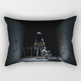 My horror story Rectangular Pillow