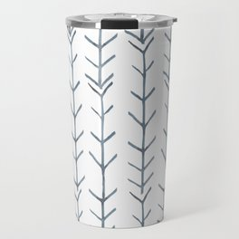 Twigs and branches freeform gray Travel Mug