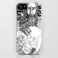 Steampunk Origin of Man Slim Case iPhone (5, 5s)