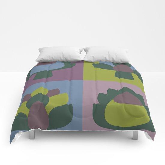 Artichoke print Comforters