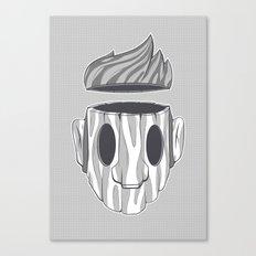 Wooden Head Boy Canvas Print