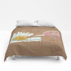 Je t'aime...un peu...beaucoup Comforters