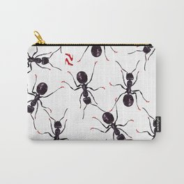 Ants in high red pumps Carry-All Pouch