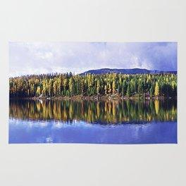 Inez Lake Montana Panorama Rug
