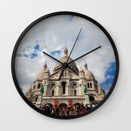 Sacre Coeur Paris Wall Clock