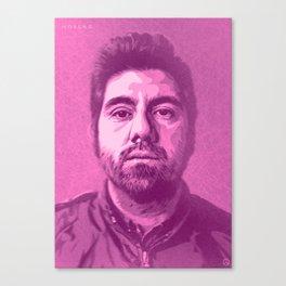 Chino Moreno Canvas Print