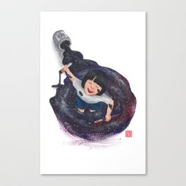 The World's A Playground Canvas Print