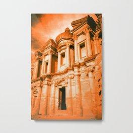 El Deir (The Monastery) Metal Print