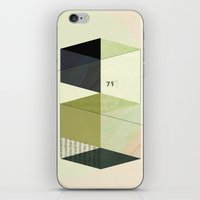fig iPhone & iPod Skins featuring Fig. 4 by Jasmine Sierra