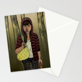 There Are Wolves in the World Stationery Cards