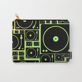 rasta vinyl Carry-All Pouch