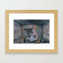 Ein bunter Schauer ! Framed Art Print