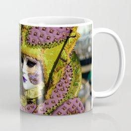 Glamorous Couple With Carnival Costumes Coffee Mug