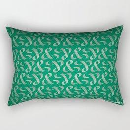 & | Logo Composition Rectangular Pillow