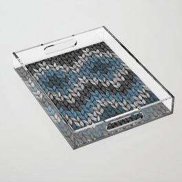 knit3 Acrylic Tray