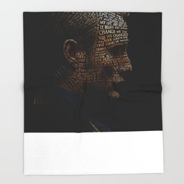 Hannibal Typography Throw Blanket