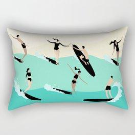 Party Wave Rectangular Pillow