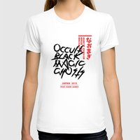 occult T-shirts featuring Occult Black Magic Ghosts - JAPAN 2015 by ENSOR