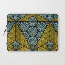 Sacred Geometry - Octahedron Air Laptop Sleeve