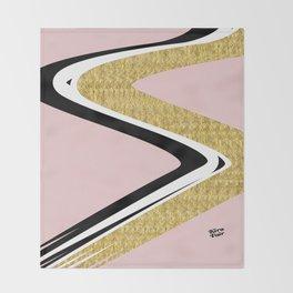 Abstract Blush II #kirovair #design #minimal #society6 #buyart Throw Blanket