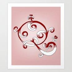 Alphabet Q Art Print