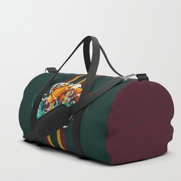 Zodiac Pisces Duffle Bag