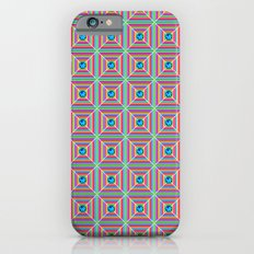 Connect the Dots Pattern iPhone 6s Slim Case