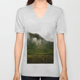 Green Land Unisex V-Neck