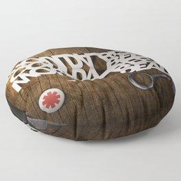 Shoulda Coulda Woulda Floor Pillow