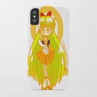 sailor venus iPhone & iPod Cases featuring Sailor Venus by Glopesfirestar