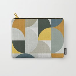 Mid Century Geometric 13 Carry-All Pouch